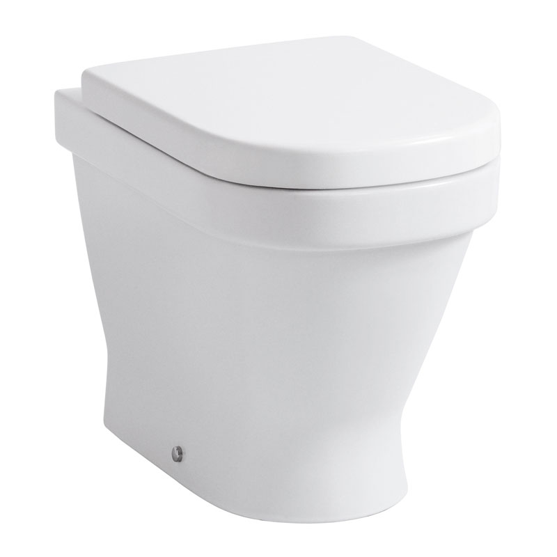 Laufen - Lb3 Classic Back to Wall Pan with Toilet Seat - LB3WC2 Large Image