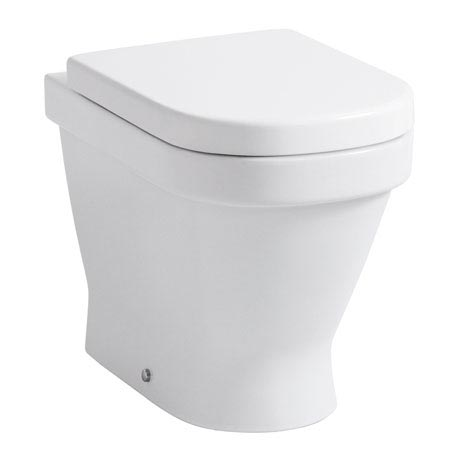 Laufen - Lb3 Classic Back to Wall Pan with Toilet Seat - LB3WC2