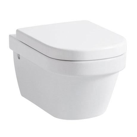 Laufen - Lb3 Classic Wall Hung Pan with Toilet Seat - LB3WC3