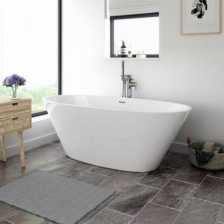 Windsor Sorrento 1720 x 790mm Modern Double Ended Freestanding Bath