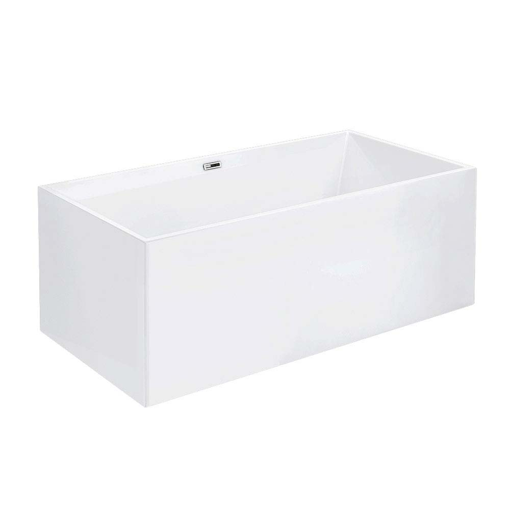 Windsor Kubic 1700 x 750mm Double Ended Free Standing Bath profile large image view 3