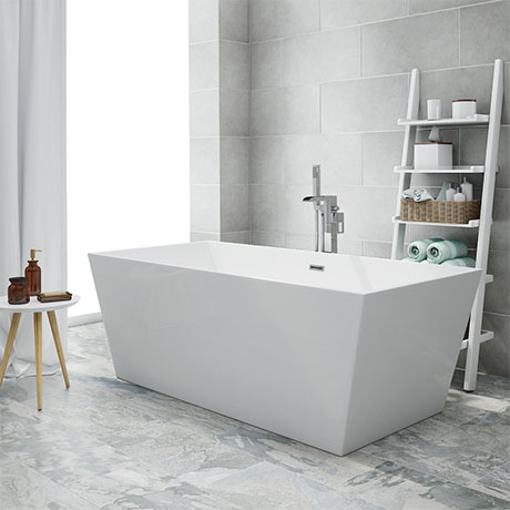 Windsor Kubic 1700 x 800mm Double Ended Free Standing Bath
