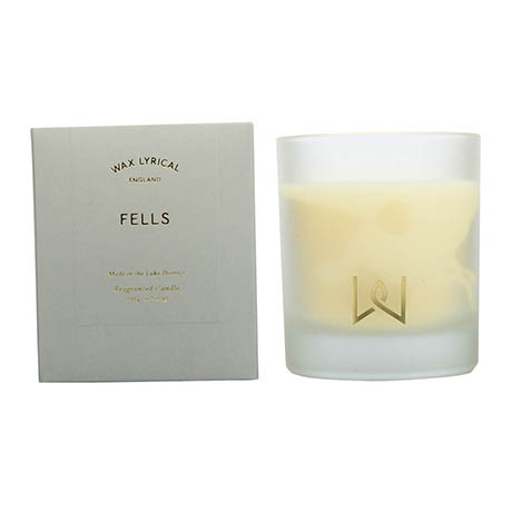 Wax Lyrical Lakes Collection Fells Boxed Glass Scented Candle