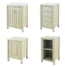 Old London Traditional 600mm Wide Cabinet Package - Pistachio Medium Image