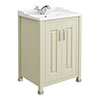 Old London - 600 Traditional 2-Door Basin & Cabinet - Pistachio - LDF203 profile small image view 1