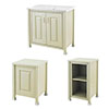 Old London Traditional 800mm Wide Cabinet Package - Pistachio profile small image view 1