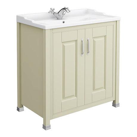 Old London - 800 Traditional 2-Door Basin & Cabinet - Pistachio - LDF205