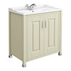 Old London - 800 Traditional 2-Door Basin & Cabinet - Pistachio - LDF205 Medium Image
