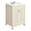 Old London - 600 Traditional 2-Door Basin & Cabinet - Ivory - LDF303 profile small image view 1