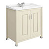 Old London - 800 Traditional 2-Door Basin & Cabinet - Ivory - LDF305 profile small image view 1