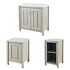 Old London Traditional 800mm Wide Cabinet Package - Stone Grey profile small image view 1