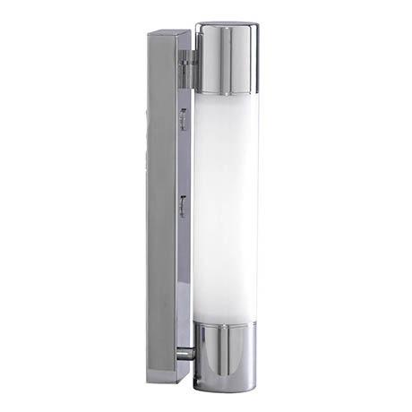Searchlight Poplar Chrome Low Energy Wall Light with Flourescent Tube - LE2208CC
