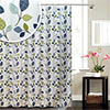 Leaf W1800 x H1800mm Polyester Shower Curtain Medium Image