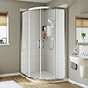 Mira Leap Offset Quadrant Shower Enclosure profile small image view 1