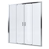 Mira Leap Double Sliding Shower Door profile small image view 1