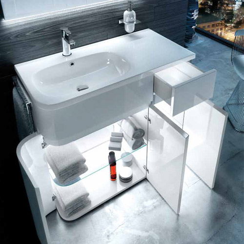 Aqua Cabinets - Internal Drawer / Cabinet LED Lighting - LEDI profile large image view 2