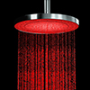 Cruze 200mm Round LED Chrome Shower Head profile small image view 1