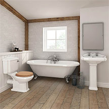 Legend Traditional Roll Top Bathroom Suite Medium Image