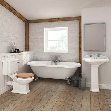 Legend Traditional Roll Top Bathroom Suite