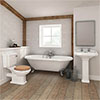 Legend Traditional Roll Top Bathroom Suite profile small image view 1