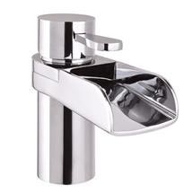 Mayfair - Lila Mono Basin Mixer Tap with Click Clack Waste - LIL009 Medium Image