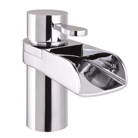 Mayfair - Lila Mono Basin Mixer Tap with Click Clack Waste - LIL009