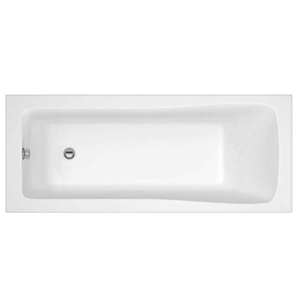 Linton Square Single Ended Acrylic Bath