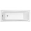 Linton Square Single Ended Acrylic Bath profile small image view 1
