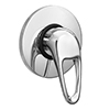 Liscia Modern Concealed Manual Shower Valve - Chrome profile small image view 1