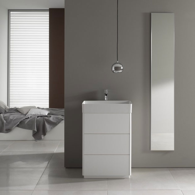 Laufen - Living Square 600mm 3 Drawer Vanity Unit with Ceramic Basin Profile Large Image