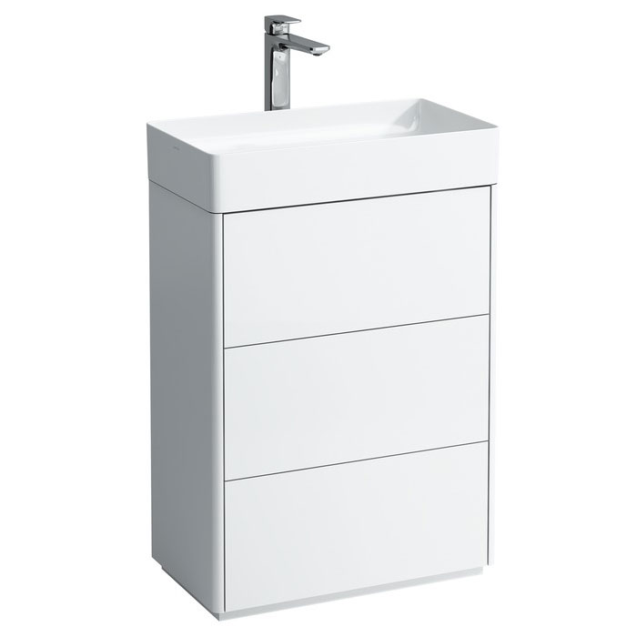 Laufen - Living Square 600mm 3 Drawer Vanity Unit with Ceramic Basin Large Image