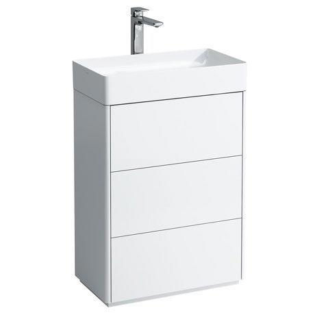 Laufen - Living Square 600mm 3 Drawer Vanity Unit with Ceramic Basin