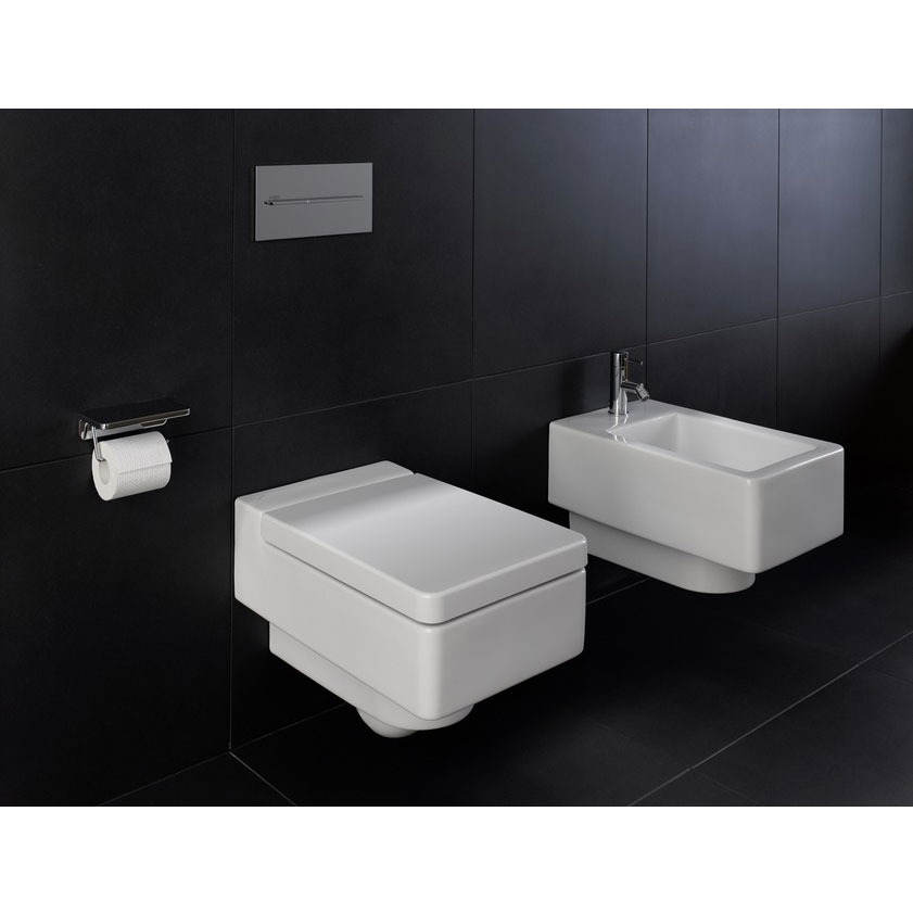Laufen - Living City Wall Hung Pan with Toilet Seat - LIVWC1 Profile Large Image