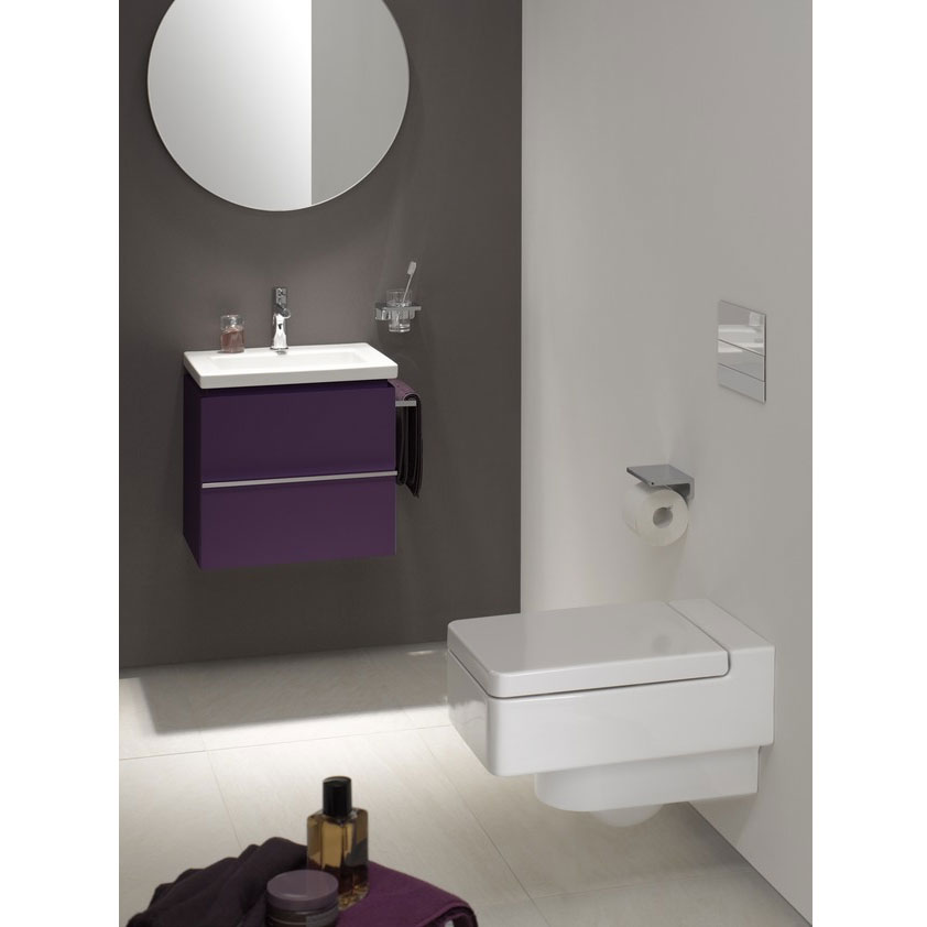 Laufen - Living City Wall Hung Pan with Toilet Seat - LIVWC1 Feature Large Image