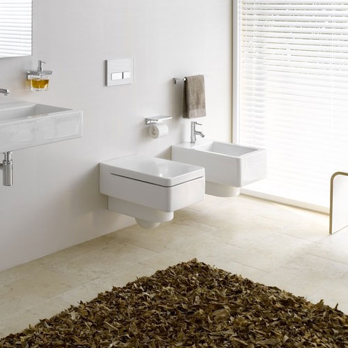 Laufen - Living City Wall Hung Bidet - 30432 profile large image view 3