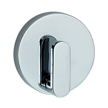 Smedbo Loft Single Towel Hook - Polished Chrome - LK355