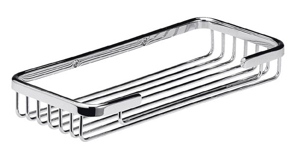 Chrome Large Wire Soap Basket - LL302