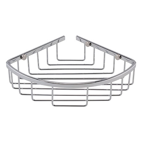 Hudson Reed Chrome Deep Corner Basket - LL306