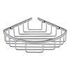 Hudson Reed Chrome Deep Corner Basket - LL306 profile small image view 1
