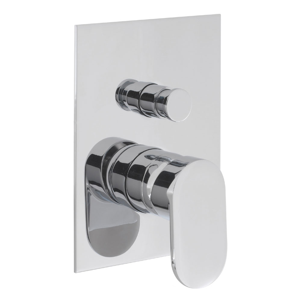 Crosswater - Love Me Concealed Manual Shower Valve with Diverter - LM0005RC Large Image
