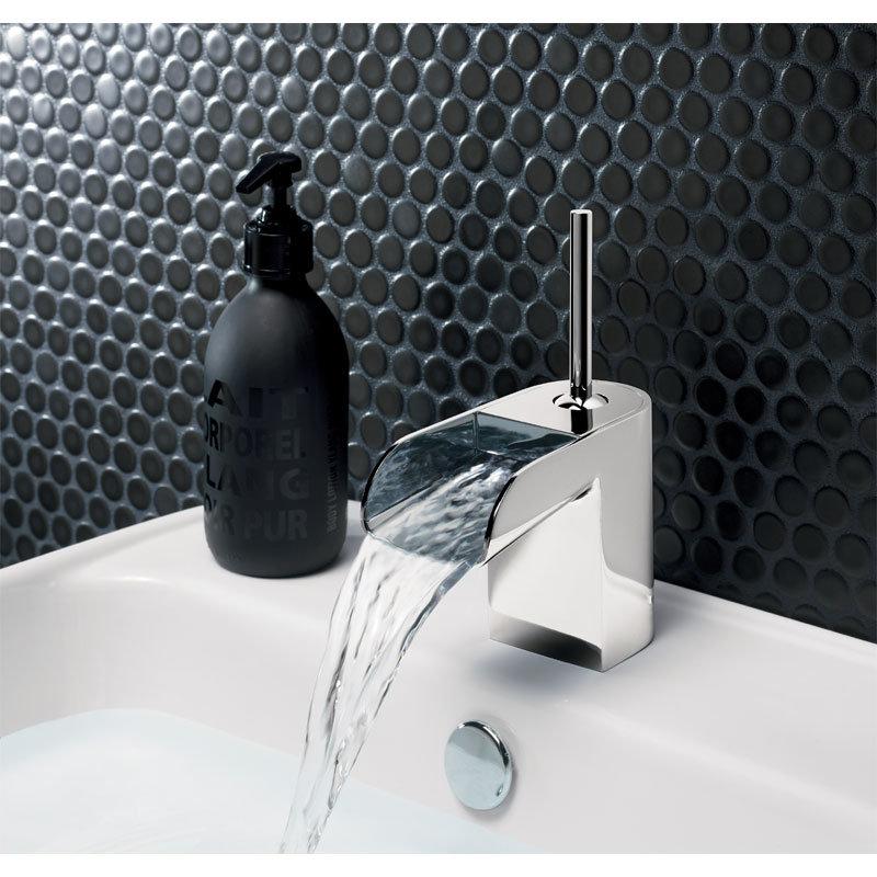 Crosswater - Love Me Monobloc Basin Mixer - LM110DNC Profile Large Image