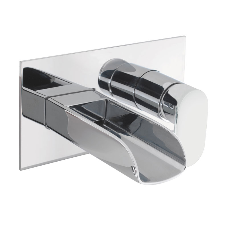 Crosswater - Love Me Wall Mounted 2 Hole Set Basin Mixer - LM121WC profile large image view 1