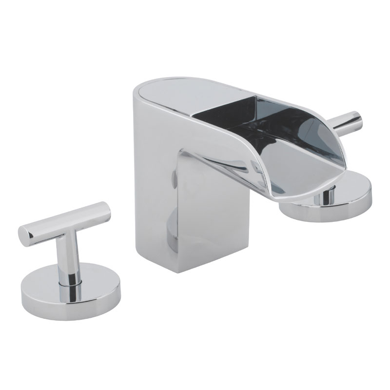 Crosswater - Love Me 3 Tap Hole Basin Mixer - LM135DNC Large Image