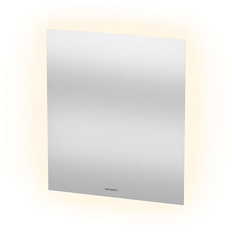 Duravit 600 x 700mm Illuminated Ambient LED Mirror with Sensor Switch - LM781500000