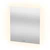 Duravit 600 x 700mm Illuminated Ambient LED Mirror with Sensor Switch - LM781500000 profile small image view 1
