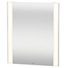 Duravit 600 x 700mm Illuminated LED Mirror with Sensor Switch - LM787500000 profile small image view 1