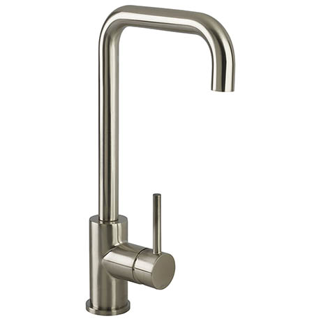 Bristan Lemon EasyFit Kitchen Sink Mixer - Brushed Nickel - LMN-EFSNK-BN