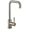 Bristan Lemon EasyFit Kitchen Sink Mixer - Brushed Nickel - LMN-EFSNK-BN profile small image view 1