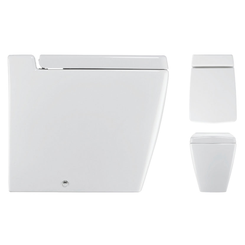 Bauhaus - Linea Back to Wall Pan with Soft Close Seat Profile Large Image