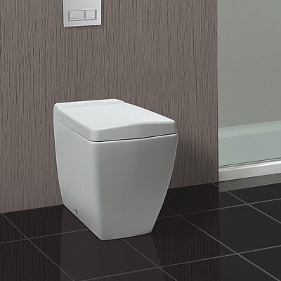 Bauhaus - Linea Back to Wall Pan with Soft Close Seat Feature Large Image